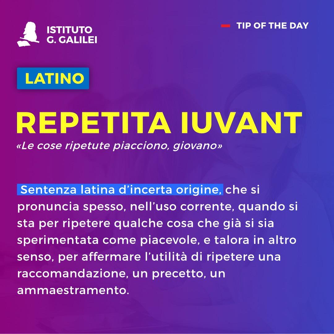 ISTITUTO GALILEI TORINO REPETITA IUVANT